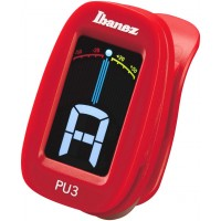 Photo IBANEZ PU3-RD - ACCORDEUR CHROMATIQUE CLIP - ROUGE