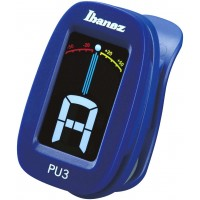 Photo IBANEZ PU3-BL - ACCORDEUR CHROMATIQUE CLIP - BLEU