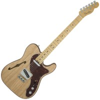 Photo FENDER AMERICAN ELITE TELECASTER THINLINE NATURAL