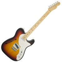 Photo FENDER AMERICAN ELITE TELECASTER THINLINE 3-COLOR SUNBURST