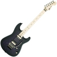 Photo CHARVEL PRO-MOD SAN DIMAS STYLE 1 HH FR TRANSPARENT PURPLE BURST