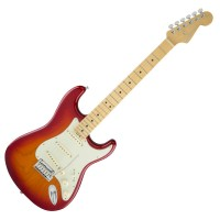 Photo FENDER AMERICAN ELITE STRATOCASTER ASH AGED CHERRY BURST MN