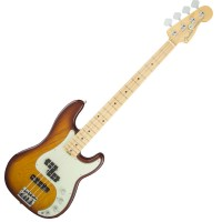 Photo FENDER AMERICAN ELITE PRECISION BASS ASH TOBACCO SUNBURST MN