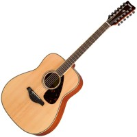 Photo YAMAHA FG82012NT - NATURAL 12 CORDES