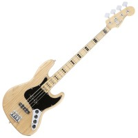 Photo FENDER AMERICAN ELITE JAZZ BASS ASH NATURAL MN