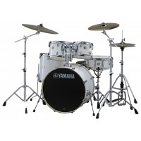 Photo YAMAHA STAGE CUSTOM BIRCH SET PURE WHITE