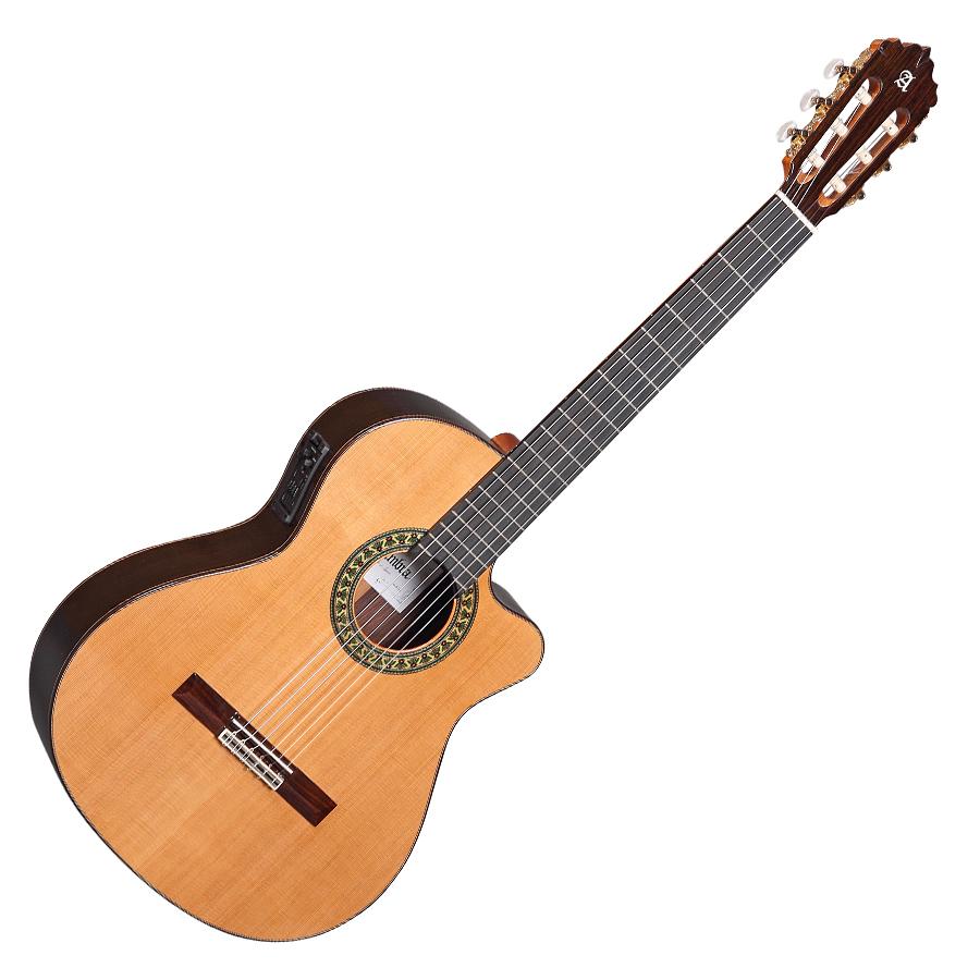 guitare classique electro acoustique alhambra