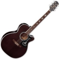 Photo TAKAMINE GN75CE-TBK ELECTRO CUTAWAY TRANSPARENT BLACK