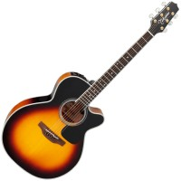 Photo TAKAMINE P6N-CBSB ELECTRO CTW BROWN SUNBURST