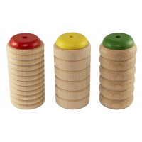 Photo ROHEMA SET DE 3 SCRAPY SHAKERS