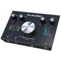 Photo M-AUDIO M-TRACK 2X2M INTERFACE AUDIO USB 2X2 + MIDI