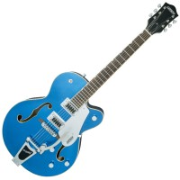 Photo GRETSCH GUITARS G5420T 2016 FAIRLANE BLUE BIGSBY