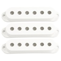 Photo SEYMOUR DUNCAN 3 X CAPOTS S WHITE SANS LOGO