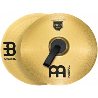 "Photo MEINL CYMBALES MARCHING STUDENT RANGE BRASS 16"" (PAIRE)"