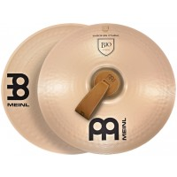 "Photo MEINL CYMBALES MARCHING B10 18"" (PAIRE)"