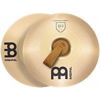 "Photo MEINL CYMBALES MARCHING B12 18"" (PAIRE)"