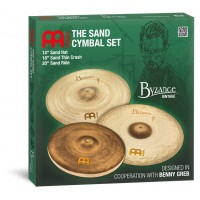 Photo MEINL BYZANCE VINTAGE SAND CYMBAL SET