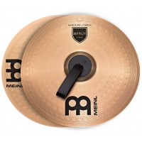 "Photo MEINL CYMBALES MARCHING STUDENT RANGE 18"" (PAIRE)"