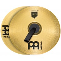 "Photo MEINL CYMBALES MARCHING STUDENT RANGE BRASS 18"" (PAIRE)"