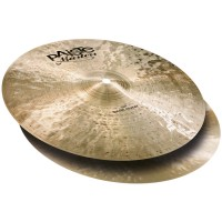 Photo PAISTE MASTERS DARK HI-HATS 14""