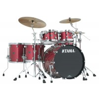 Photo TAMA PP52HZS - KIT STARCLASSIC PERFORMER B/B 5 FÛTS CORAL RED SPARKLE