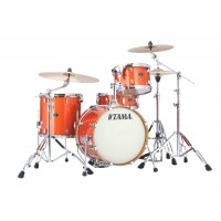 Photo TAMA VD48S-BOS - SILVERSTAR 4PC BRIGHT ORANGE SPARKLE