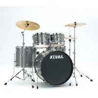 Photo TAMA RM52KH6C-GXS - RHYTHM MATE 5PC GALAXY SILVER