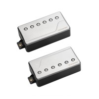 Photo FISHMAN FLUENCE CLASSIC HUMBUCKER ALU BROSSÉ SET