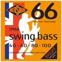 Photo ROTOSOUND SM66 SWING BASS 66 STAINLESS STEEL HYBRID 40/100