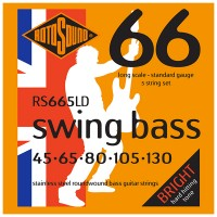 Photo ROTOSOUND RS665LD SWING BASS 66 STAINLESS STEEL 5C STANDARD 45/130