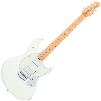 Photo MUSIC MAN STINGRAY GUITAR IVORY WHITE