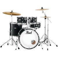 "Photo PEARL DECADE MAPLE 5 FÛTS FUSION 20"" SATIN SLATE BLACK"