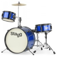 "Photo STAGG BATTERIE JUNIOR 3 FUTS 16"" BLEU"