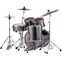 "Photo PEARL EXPORT FUSION 20"" SMOKEY CHROME 5 FÛTS"