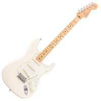 Photo FENDER AMERICAN PROFESSIONAL STRATOCASTER OLYMPIC WHITE MN