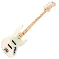 Photo FENDER AMERICAN PROFESSIONAL JAZZ BASS OLYMPIC WHITE MN