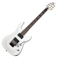 Photo SCHECTER DEMON-6 FR VINTAGE WHITE