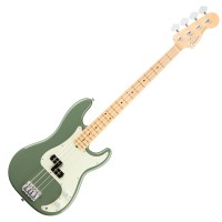 Photo FENDER AMERICAN PROFESSIONAL PRECISION BASS ANTIQUE OLIVE MN