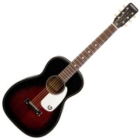 Photo GRETSCH GUITARS G9500 JIM DANDY FLAT TOP 2-COLOR SUNBURST