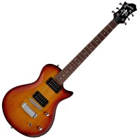 Photo HAGSTROM ULTRA SWEDE ESN TOBACCO SUNBURST