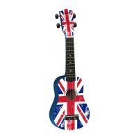 Photo TANGLEWOOD TU6GBF UKULÉLÉ SOPRANO DRAPEAU UK