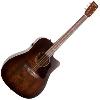 Photo ART & LUTHERIE AMERICANA CW QIT BOURBON BURST