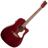 Photo ART & LUTHERIE AMERICANA CW QIT TENNESSEE RED