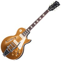 Photo GIBSON ES-LPS P90 VOS GOLD TOP BIGSBY