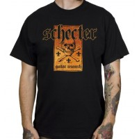 Photo SCHECTER T-SHIRT SKULL - TAILLE S