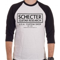 Photo SCHECTER T-SHIRT BASE BALL - TAILLE XL