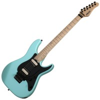 Photo SCHECTER SUN VALLEY SUPER SHREDDER FR SEA FOAM GREEN
