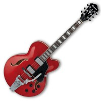 Photo IBANEZ AFS75T-TCD - TRANSPARENT CHERRY RED