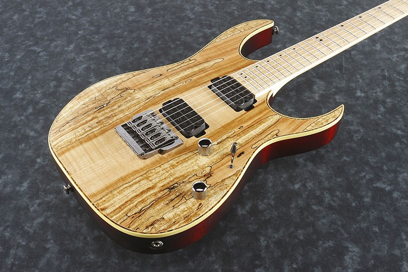 ibanez rg721fml-ntf premium natural flat guitare el. gaucher