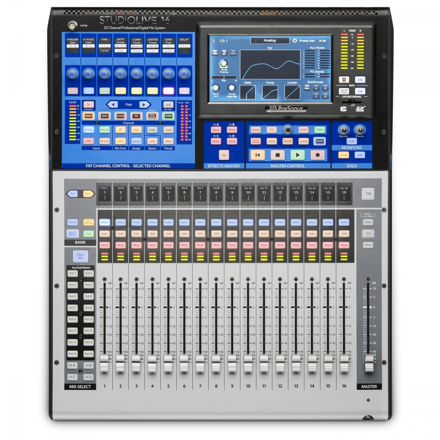 table de mixage zoom